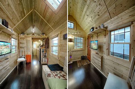 Four Lights Tiny House Company chris amp malissa tack s tiny tack house lives large in
