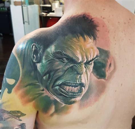 incredible hulk tattoo designs mens back best design ideas