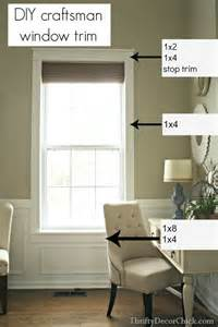 Trim A Home Decorations 1000 Ideas About Craftsman Window Trim On