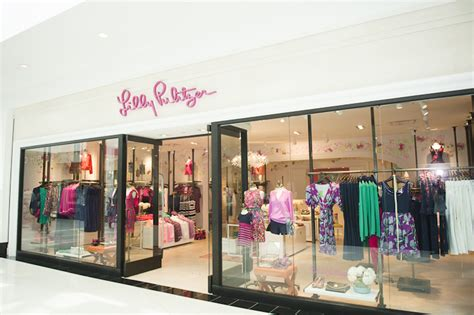 layout of towson mall lilly pulitzer towson maryland natalie franke