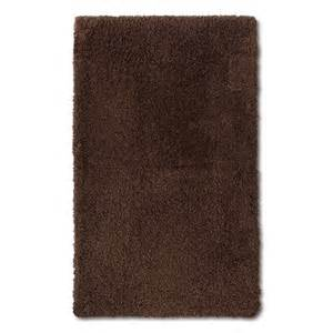 luxury bath mats and rugs fieldcrest 174 luxury bath rug morel brown 20x34 quot target