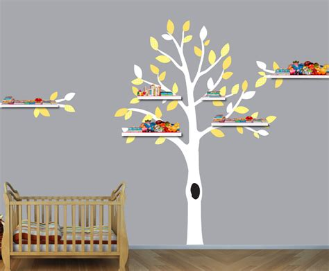 wandregal kinderzimmer baum b 252 cherregal baum swalif