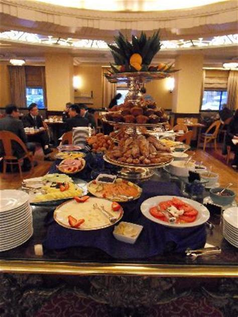 rich buffet breakfast picture of waldorf astoria new