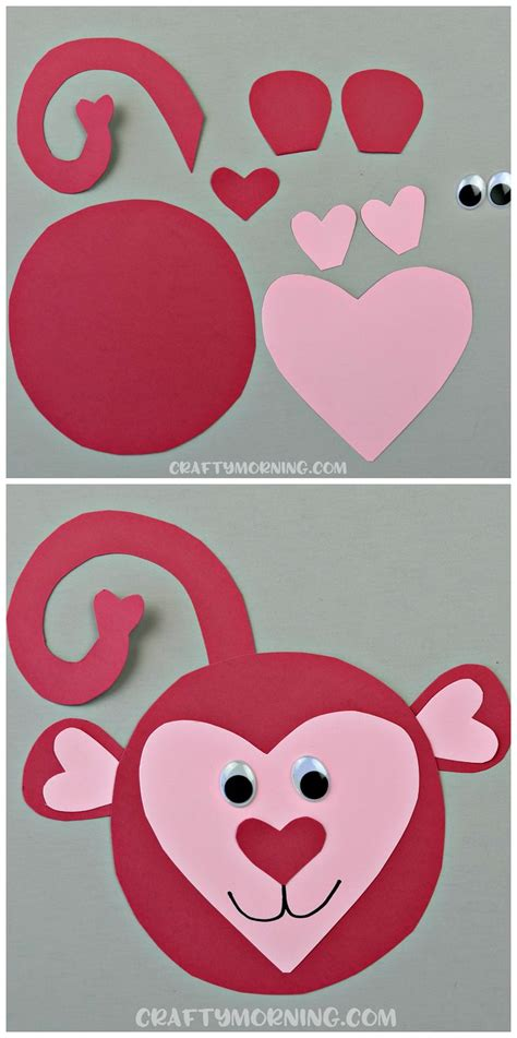 valentines day animals the 25 best monkey projects ideas on