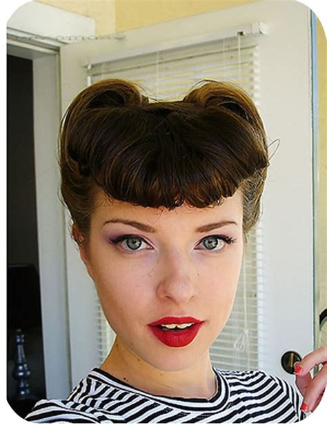 cute hairstyles vintage 30 diy vintage hairstyle tutorials for short medium long
