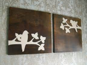 Design House Decor Etsy by Rustic Bird Wood Wall Decor Art Set 18x18 Rustic By