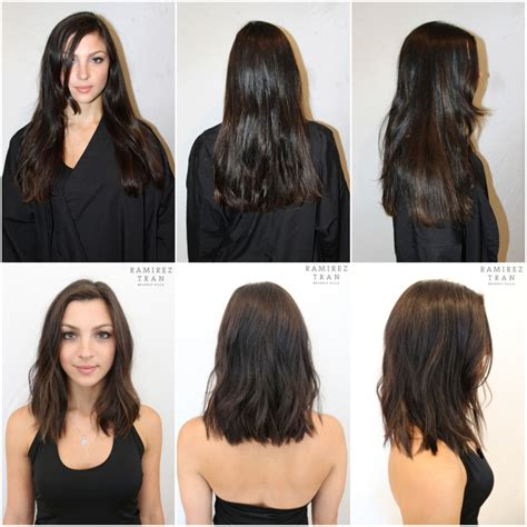 blunt cut with minimal layers extra long bob w minimal layers hair pinterest