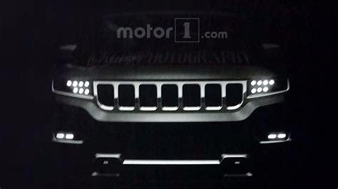 jeep wagoneer 2019 2018 jeep wrangler and 2019 grand wagoneer leaked online