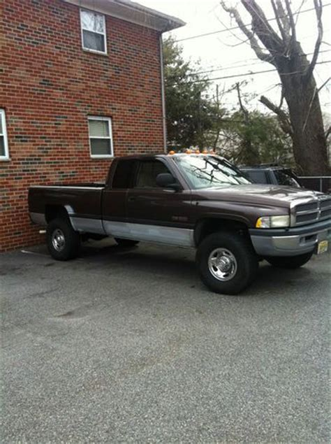 active cabin noise suppression 1998 dodge ram 2500 club electronic throttle control sell used 1998 dodge ram 2500 12 valve cummins diesel 4x4 quad cab in hackettstown new jersey