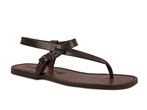 handmade mens leather sandals handmade brown leather sandals for italian