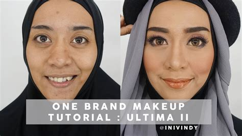 Pensil Alis Ultima one brand makeup tutorial ultima ii timeless