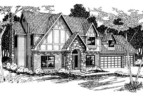 tudor house plans livingston 30 046 associated designs