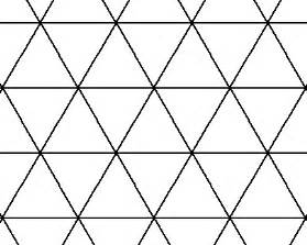 tessellating shapes templates simple triangle tessellations printable patterns
