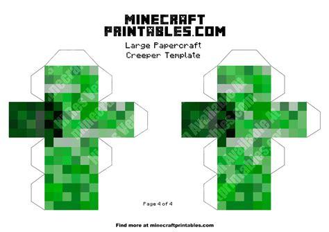 Minecraft Papercraft Minecart Set - creeper printable minecraft mooshroom papercraft template