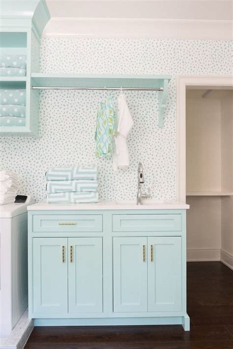 Laundry Room White Cabinets Best 25 Turquoise Laundry Rooms Ideas On Pinterest Laundry Room Cabinets For Laundry Room
