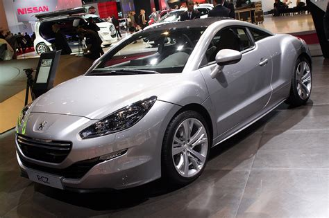 peugeot rcz 2012 2013 peugeot rcz is a mild revision on perfect french cool