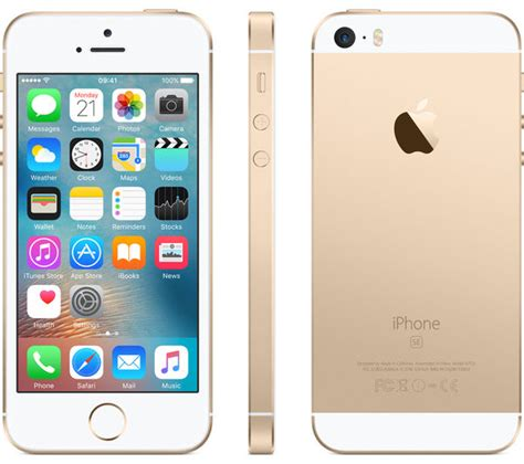 Iphone 5 Se 16gb Gold buy apple iphone se 16 gb gold free delivery currys