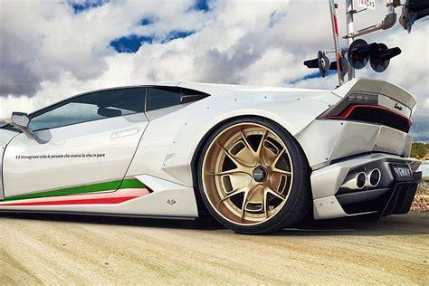 Lamborghini Huracan Meaning Gwa Tuning Gives The Lamborghini Huracan A Makeover
