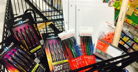 office depot officemax score 11 school supply items for
