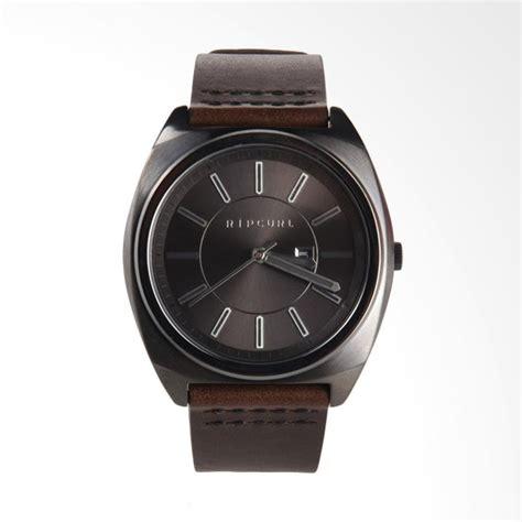 Jam Tangan Rantai Pria Cowok Ripcurl Rip Curl Crono Model Rolex Ac Qq jual rip curl brinkman gunmetal leather jam tangan pria