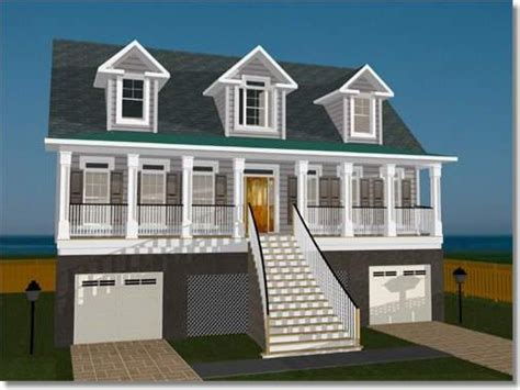 Elevated Home Plans by Elevated House Plans For Flood Zones Elevated Home Plans