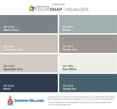 i found these colors with colorsnap 174 visualizer for iphone by sherwin williams cloud sw