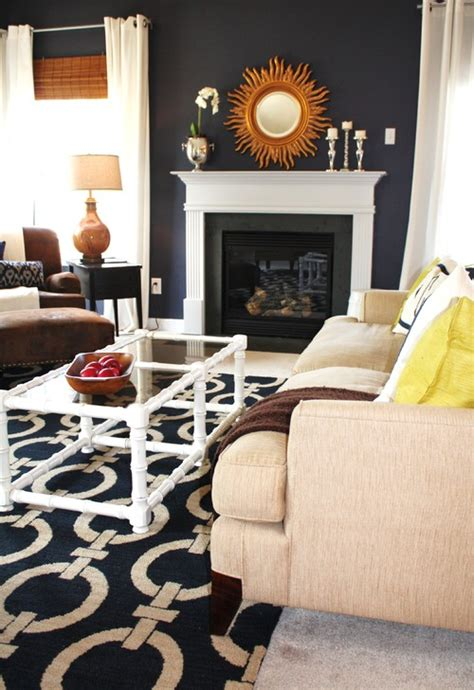 color crush navy blue addicted  decorating