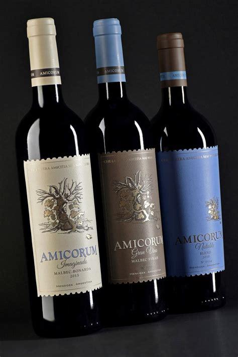 Bj4730 Wine 5 In 1 dise 241 o etiqueta de vino wine label design bodega lagarde amicorum nuestras etiquetas de vino