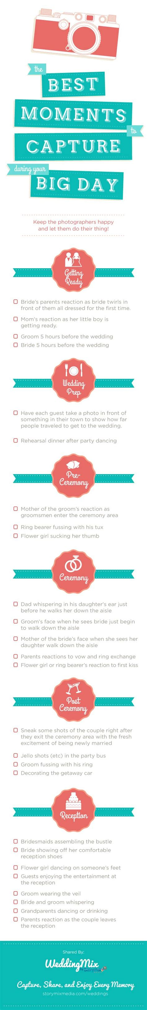 Wedding Checklist What I Forgotten by Wedding Photos Checklist 18 Photos You Would