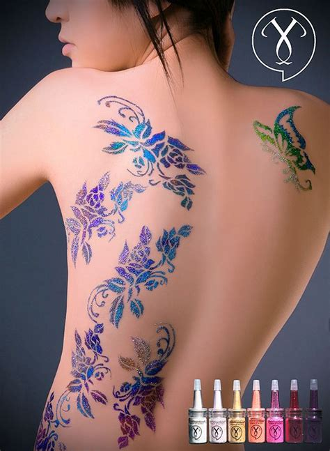 glitter henna tattoo best 25 glitter tattoos ideas on glitter