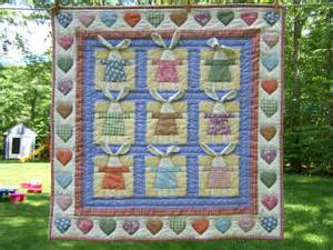 when gives you scraps make quilts bunny wall hanging