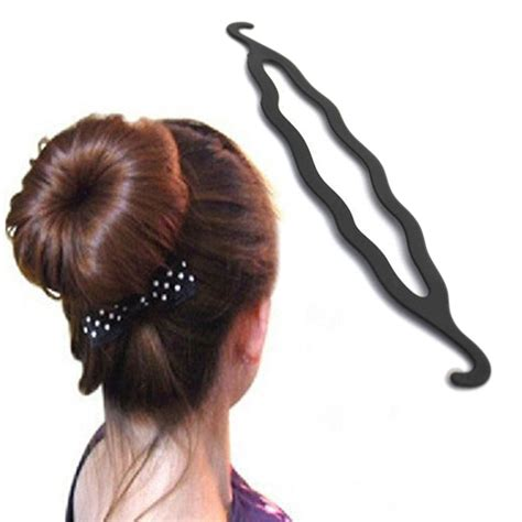 List Of Different Types Of Hair Buns by 5pcs Useful Design Hair Accessories Black Hook Type