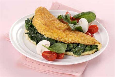 cucinare omelette omelette spinaci cuciniamo