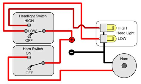 horn switch wiring diagram 26 wiring diagram images