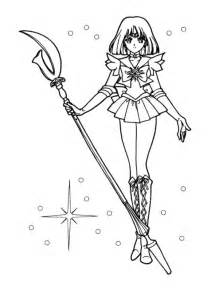 Sailor Saturn Coloring Pages coloring pages sailor moon az coloring pages