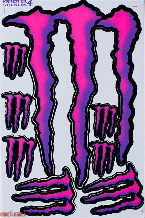 Monster Energy Aufkleber Chrom by Monster Energy Decals And Green Monsters On Pinterest