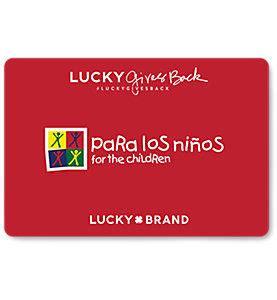 Lucky Brand Gift Card - lucky brand gift card balance checker check your gift card balance