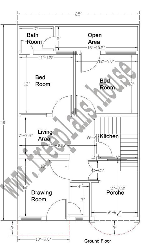 40 sq house plans 20 x 40 house plans 800 square feet india