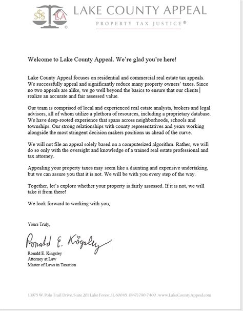 Property Tax Appeal Letter by Letter Property Tax Appeal Sle Appeal Letter Templates Free Pdf Word Excel Property Tax