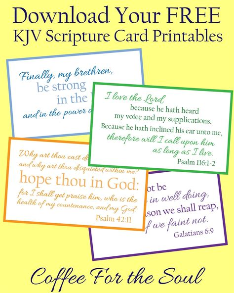 bible verse memory card template kjv bible quotes on motivation quotesgram