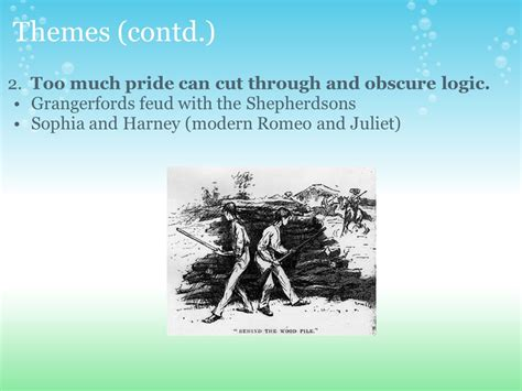 modern themes of romeo and juliet the adventures of huckleberry finn by mark twain ppt