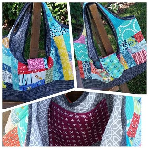 Quilt As You Go Bag by Quilt As You Go Patchwork Bags Class Shows How To