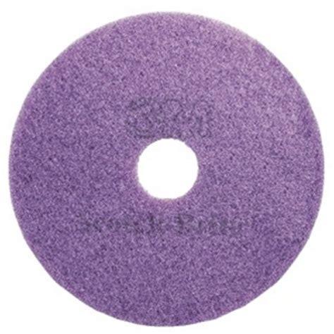 3M Scotch Brite Purple Diamond Floor Pad Plus   13 inch