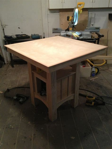 Kitchen Table Project Kitchen Table Project Woodworking