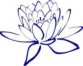 Lotus Blossom Drawing Navy Lotus Clip At Clker Vector Clip
