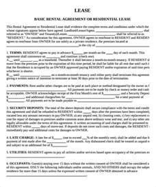 Property Lease Agreement Template Free property lease agreement templates to download for free