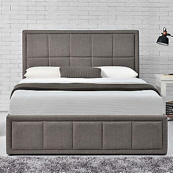 Three Quarter Ottoman Storage Bed Hannover Upholstered Fabric Ottoman Storage Bed By Birlea Look Again
