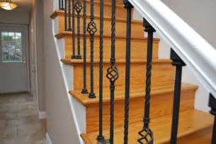 Metal Stair Banisters Wrought Iron Stair Balusters Stairs