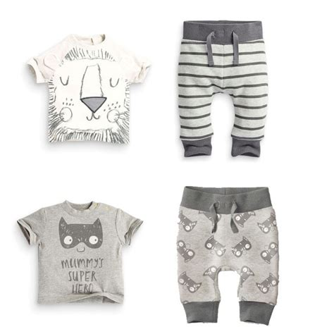 Mothercare Set For Baby Boy 5 retail 2017 infant clothes baby clothing sets boy