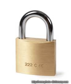 lock - photo/picture definition at Photo Dictionary - lock ... Lock